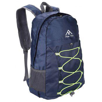 PolarFire Outdoor Travel Camping Backpack Water Resistant Foldable Bag - MIDNIGHT BLUE