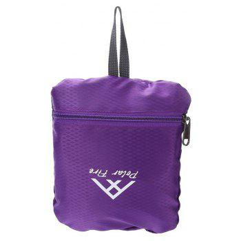 PolarFire Outdoor Travel Camping Backpack Water Resistant Foldable Bag - VIOLET