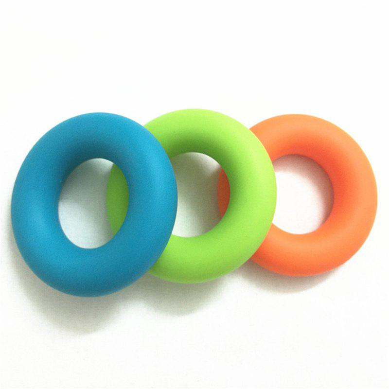 Silicone Finger Power Training Tool Exercise Ring Rubber Hand Grip Forearm 3pcs
