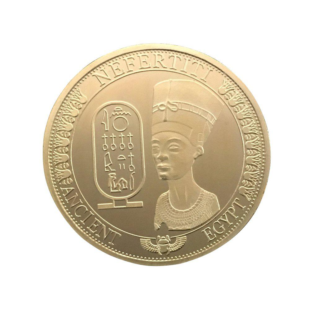Egyptian Queen Commemorative Coin - GOLD
