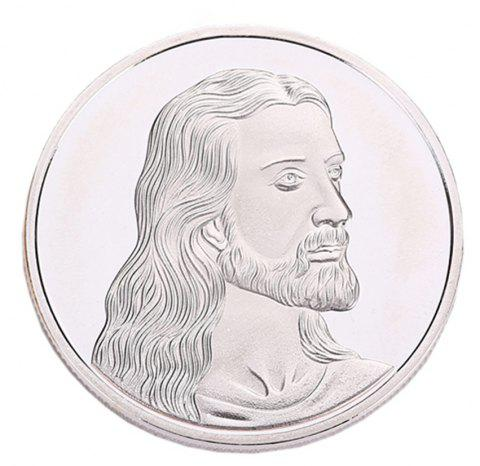 Gold Silver Last Supper Commemorative Coin - SILVER