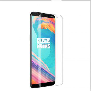 Water Condensate 3D Arc Soft Screen Film for OnePlus 3 / 3T - TRANSPARENT