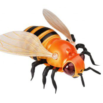 Cute Little Bees Remotely Imitate Insect Toys - BEE YELLOW