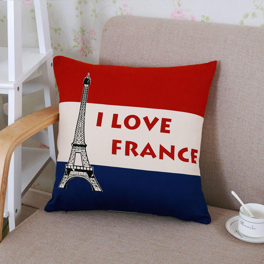 British Flag Pattern Pillow Cushion Cover Pillowslip - multicolor C 45X45CM