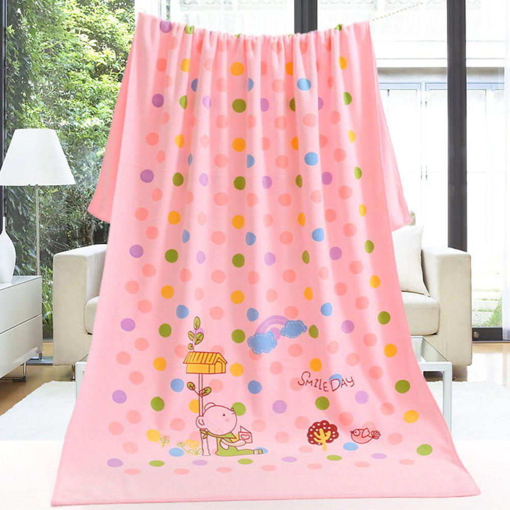 Super Soft Pure Baby Bath Towel - LIGHT PINK