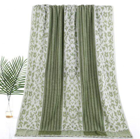 Pure Cotton Soft Twist Thickened Bath Towel - CAMOUFLAGE GREEN