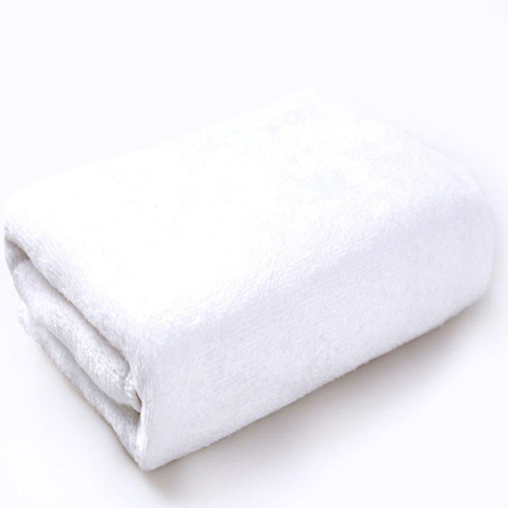 Super Soft Thick Bath Towel - WHITE