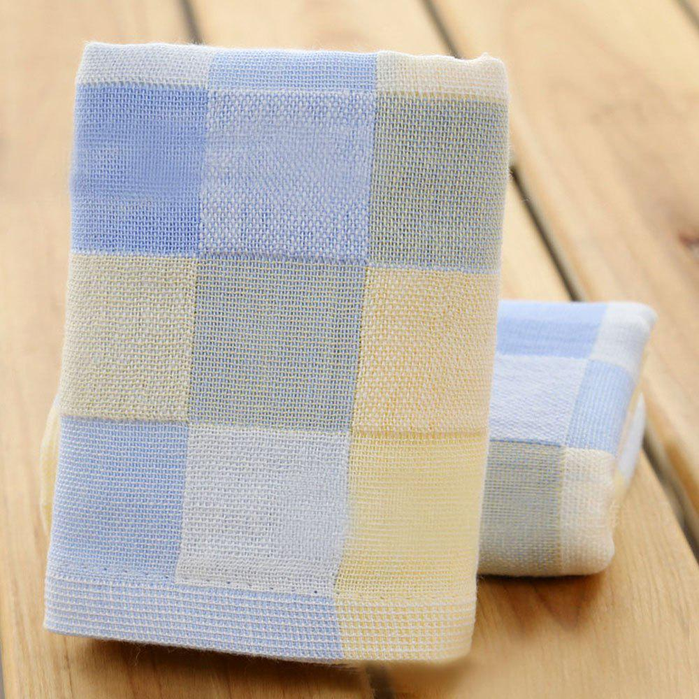 Pure Cotton Children Gauze Wipe Towel - PASTEL BLUE