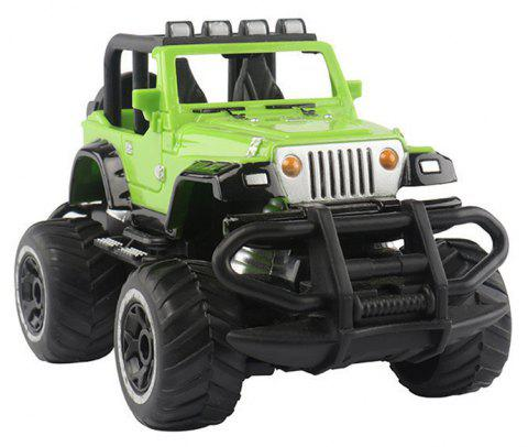 1:43 Remote Control Off-road Vehicle SUV Toy - GREEN