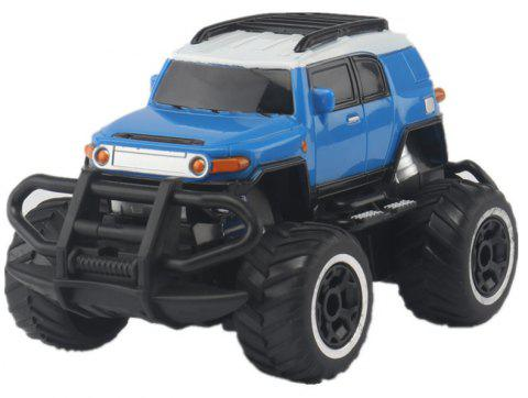 1:43 Remote Control Off-road Vehicle SUV Toy - BLUE