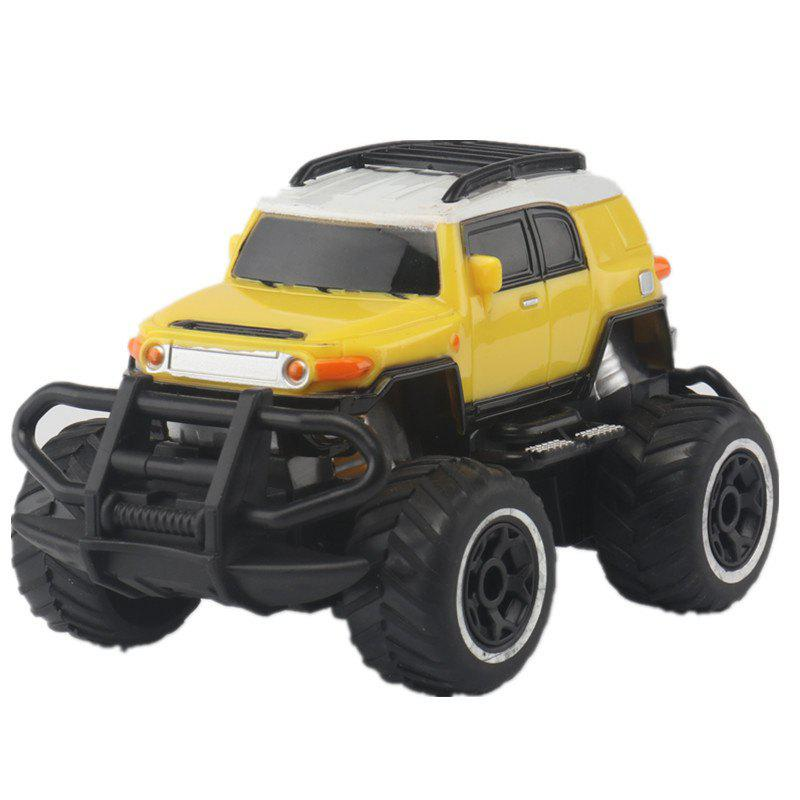 1:43 Remote Control Off-road Vehicle SUV Toy - YELLOW