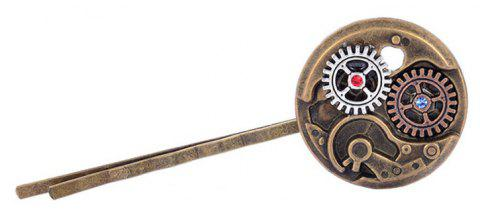 Europe and The United States Popular Steampunk Watch Gear Tiara Hair Clip - multicolor