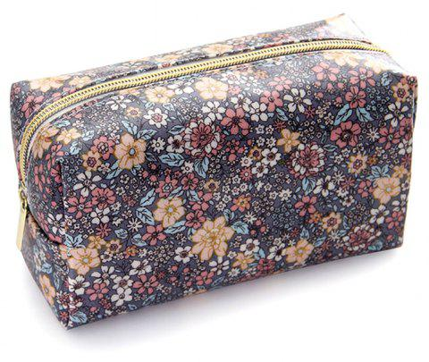 Nm-01 Rough Section Lady Holding Cosmetic Bag 3 Colors - multicolor B