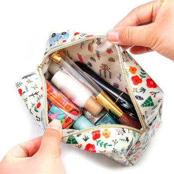 Nm-01 Rough Section Lady Holding Cosmetic Bag 3 Colors - multicolor A