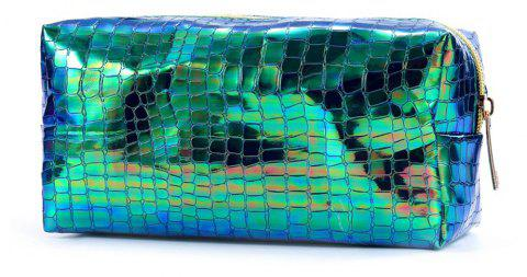 Sms-02 New Style Colorful Laser Cosmetic Bag 3 Colors - GREEN