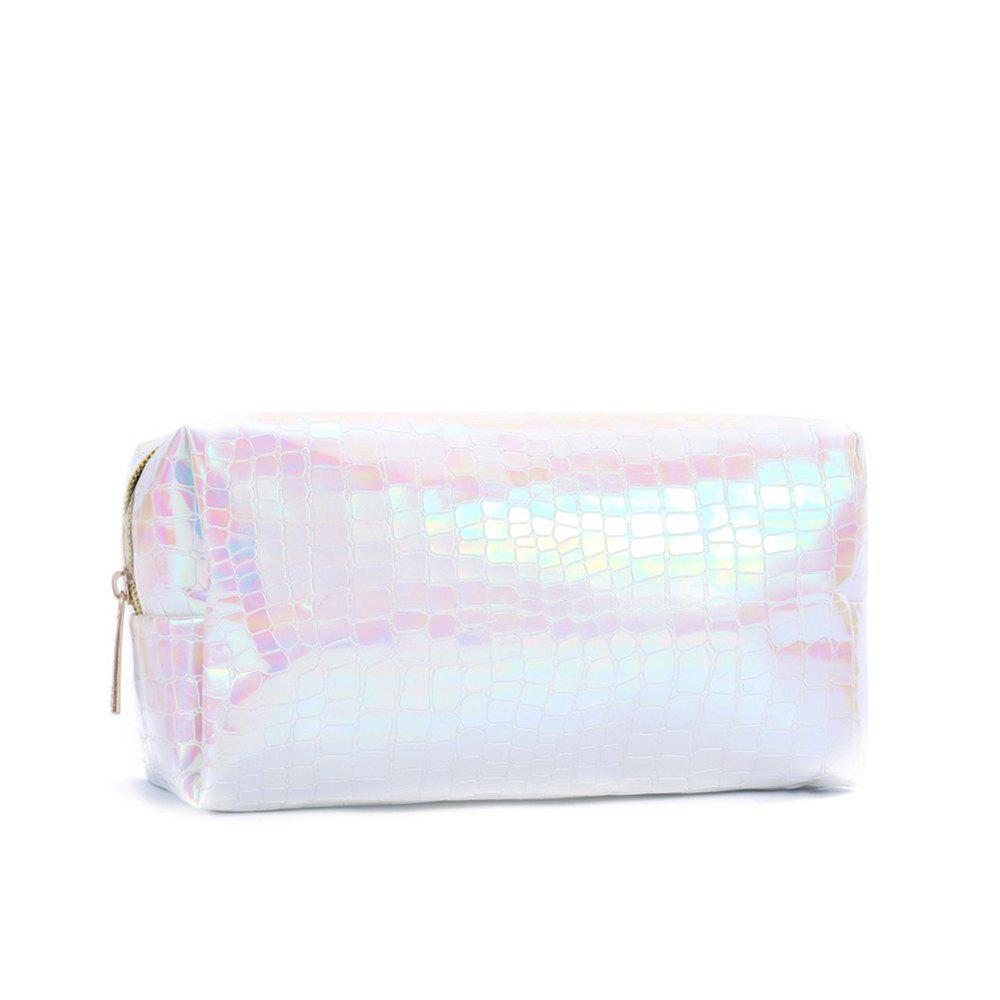 Sms-02 New Style Colorful Laser Cosmetic Bag 3 Colors - PINK