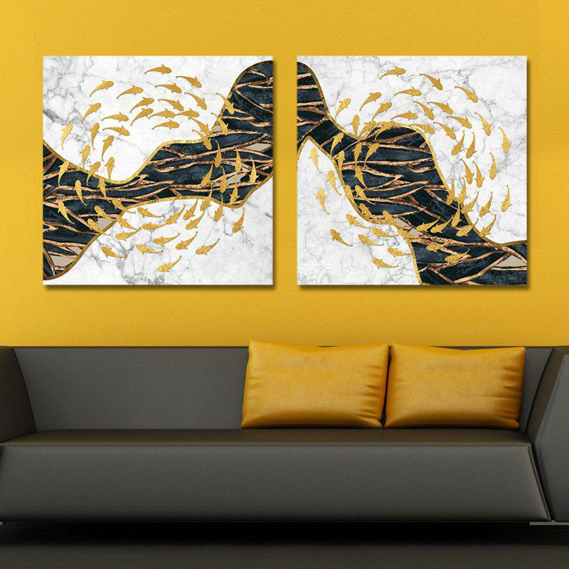 2018 MY43-XDZS - 68-69 Fashion Abstract Print Art Ready to Hang ...