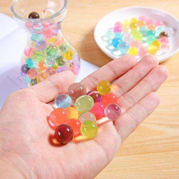 Creative and Fad Crystal Mud Soil Water Beads Gun Crystal Soft Bullets - multicolor 4X4CM