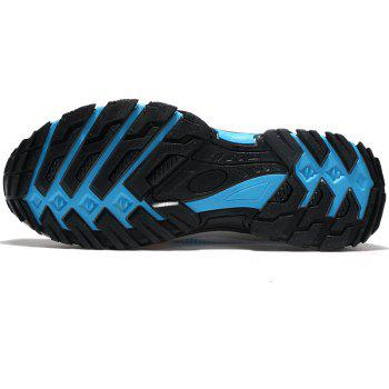 Men Casual Fashion Mesh Outdoor Breathable Shoes - GRAY CLOUD 42