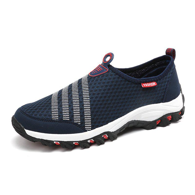 Men Casual Fashion Mesh Breathable Shoes breathable mesh men casual shoes
