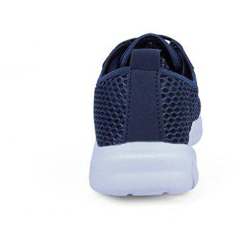 Lightweight Breathable Mesh Beach Shoes Comfort FlatsSneakers - NAVY BLUE 41
