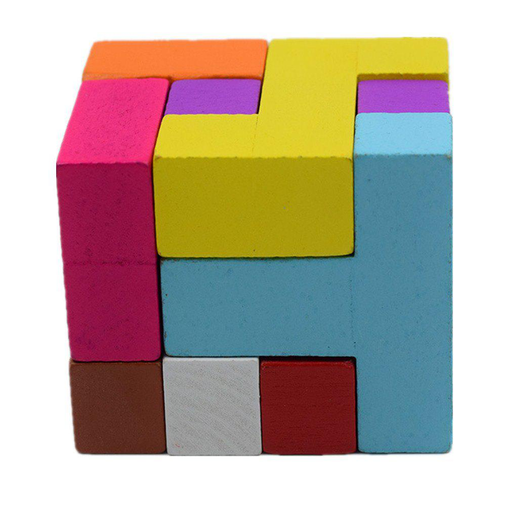 8 Cube Building Blocks Children Puzzle Toy octa angle ru bun lock children puzzle toy building blocks