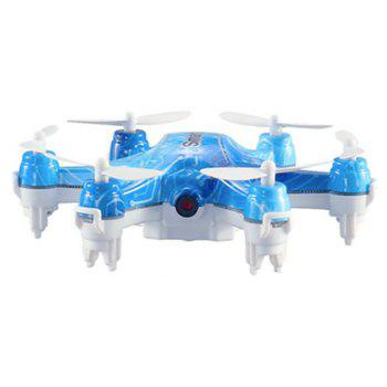 CX-37 Smart H Mini Hexacopter RC Drone 0.3MP WiFi FPV 6-axis Gyroscope / Height Hold - LIGHT BLUE