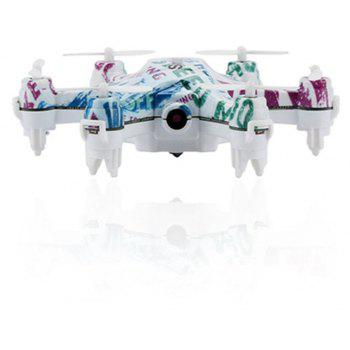 CX-37 Smart H Mini Hexacopter RC Drone 0.3MP WiFi FPV 6-axis Gyroscope / Height Hold - multicolor