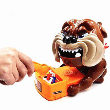 Flake Out Bad Dog Bones Cards Tricky Toy Games for Children - BROWN SUGAR