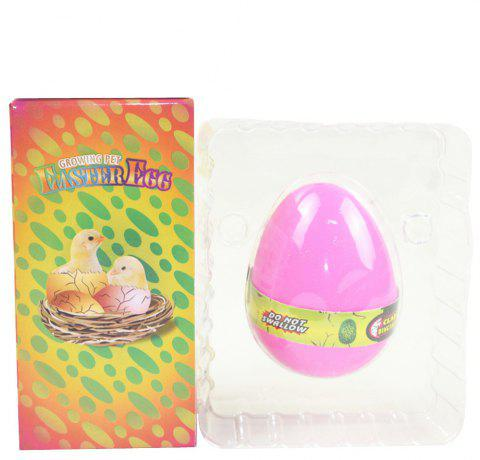 Chicken Egg Water Hatching Magic Children Kids Toy - DEEP PINK