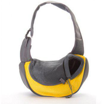 Portable Outdoor Pet Dog Bag - BRIGHT YELLOW