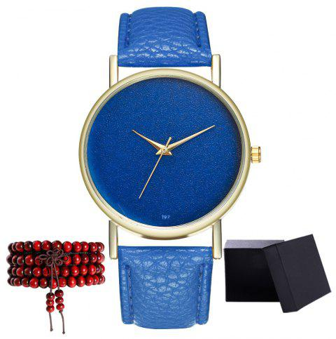 Kingou T97 Fashion Creative Sky Pattern Quartz Watch - ROYAL BLUE