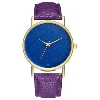 Kingou T97 Fashion Creative Sky Pattern Quartz Watch - PURPLE