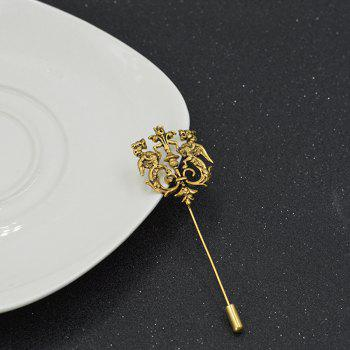 Fashion Female Broche Hijab Pins And Brooches For Women Gift - COPPER