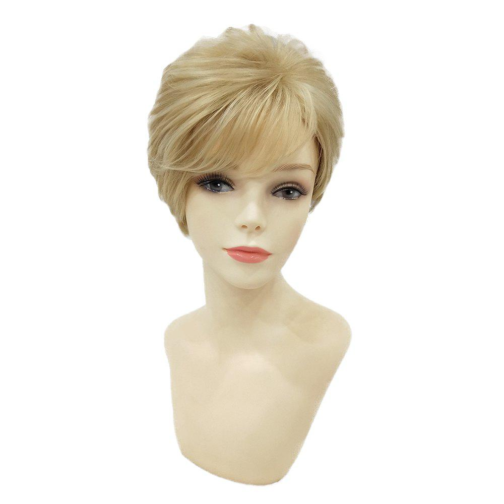 Short Pixie Cut Hair Natural Synthetic Heat Resistant Wigs for Women new hot heat resistant synthetic puffy short black wigs for black women natural african american wig with bangs free shipping