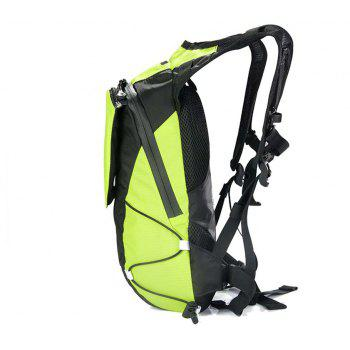 Wireless Control LED 5 Liter Safety Backpack - YELLOW GREEN VERTICAL