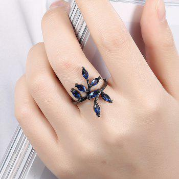 Punk Style Tree Branches Pattern Ring Charm Jewelry - ROYAL BLUE US SIZE 8