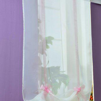 Fashionable Household Pure Color Roll Shade - LIGHT PINK 100X140CM
