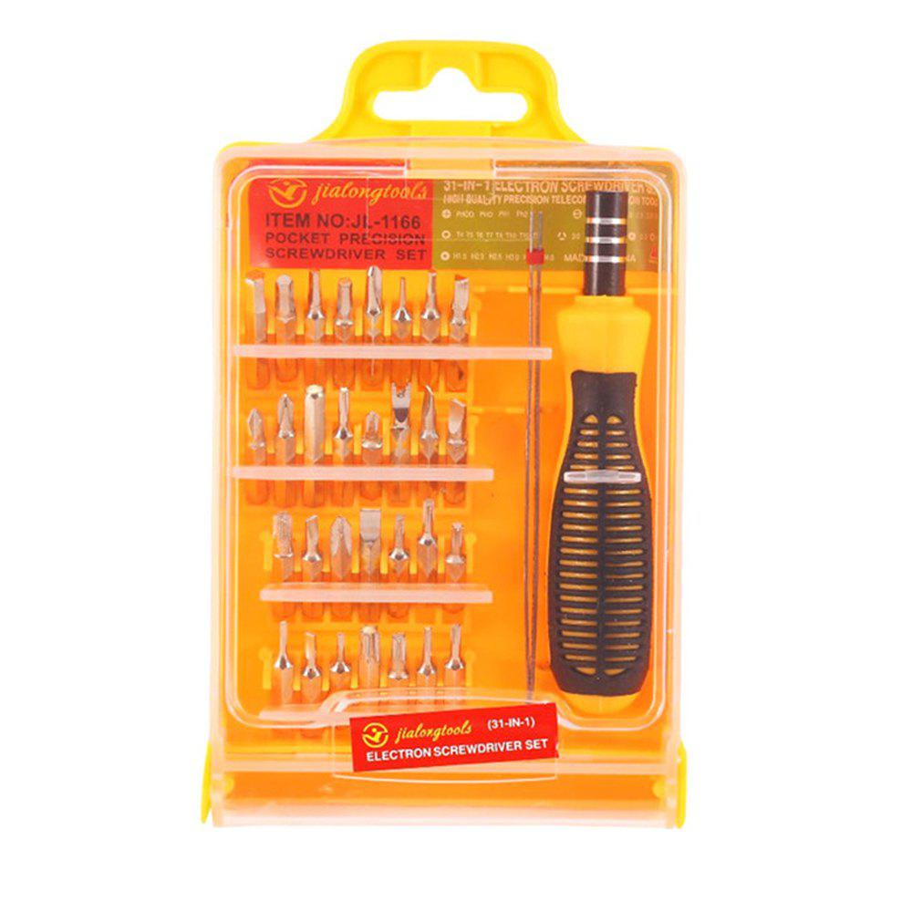 New 32 in 1 Multi-function Screwdriver Combination Kit 30 in 1 multi function diamond coated grinding burrs silver