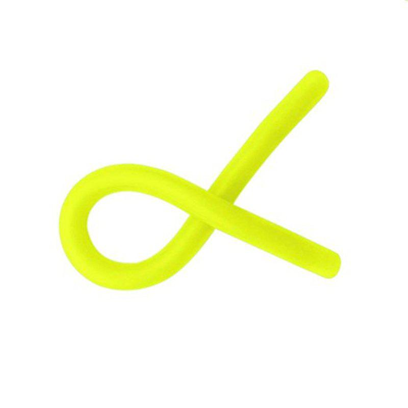 Neon Stretchy String Fidget Toys Anti-anxiety Squishy Sensory - GREEN