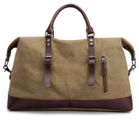 New Canvas Slanted Shoulder Sports Men's Bags - CINNAMON 50 X 22 X 37