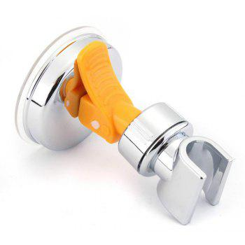 Suction Cup Stand Adjustable Shower Head Holder - SILVER