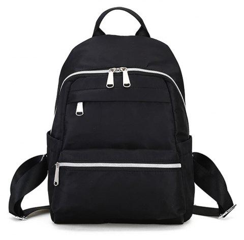 Simple and Versatile Travel Backpack - BLACK