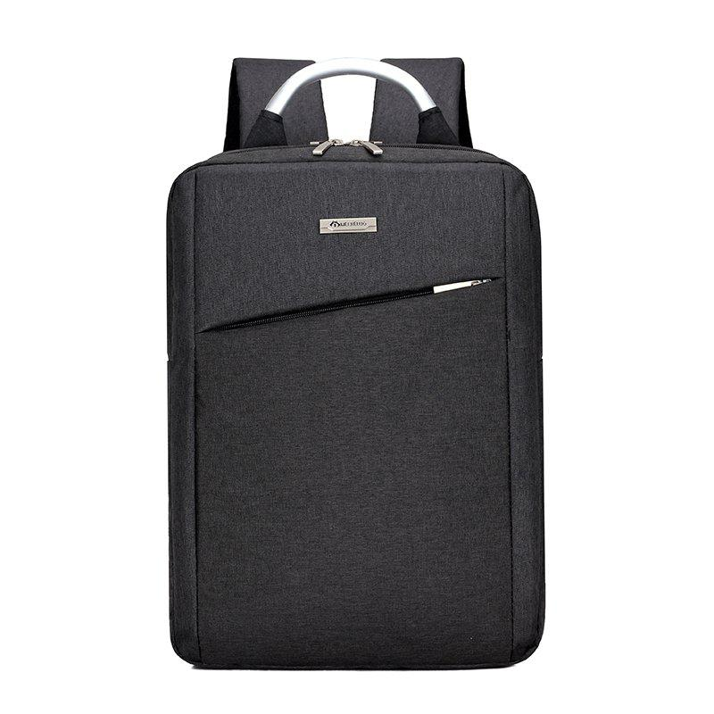 Men Fashion Backpacks Waterproof Computer Bags 15.6 inches Laptop Backbag - NIGHT