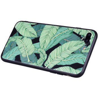 For iPhone 7 Plus / 8 Plus Banana Leaf Handset Protection Shell - GREEN