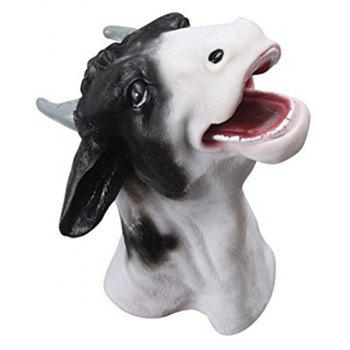 Funny Goat Model Hand Puppet Toy - multicolor