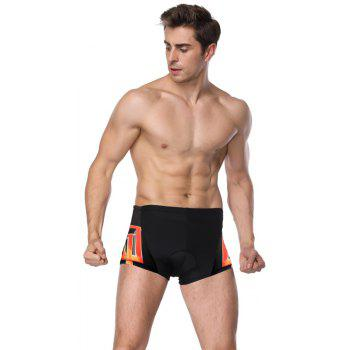 Twotwowin KK20 Men's Cycling Underwear with 3D CoolMax Pad - BLACK M