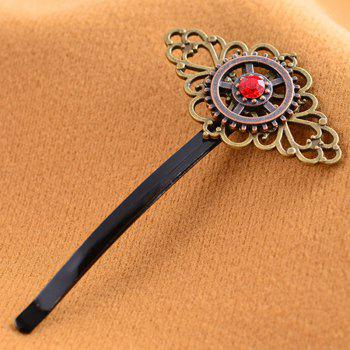 European and American Foreign Trade Creative Jewelry Steampunk Vintage Word Clip - COPPER