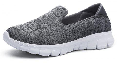 Breathable Casual Running Shoes - DARK GRAY 42