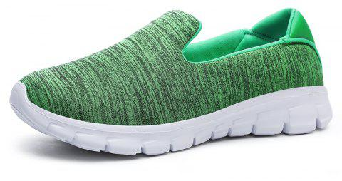 Breathable Casual Running Shoes - GREEN 37